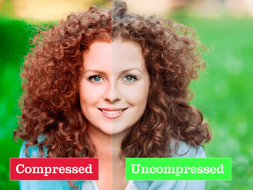 Compressed-Uncompressed