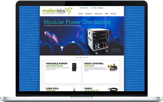 Motion Labs Website