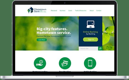 Hometown Bank Website