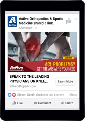 Active Orthopedics & Sports Medicine Facebook Page
