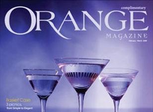 Orange Magazine – Print Advertising done by Hudson Valley Agency AJ Ross Creative Media