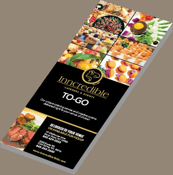 Example food menu