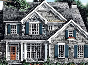Model Home Rendering