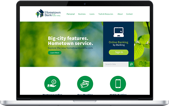 Hometown Bank Website