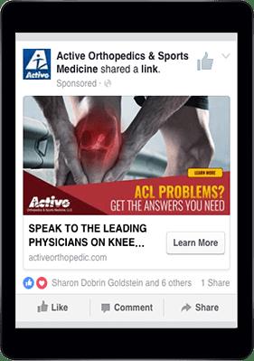 Active Orthopedics & Sports Medicine Facebook Page