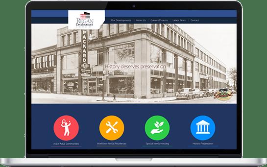 Regan Development Website